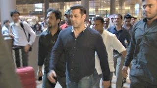 TUBE LIGHT Salman Khan Heavy Security At Mumbai Airport