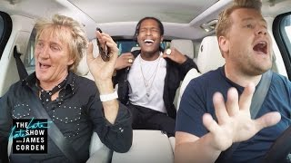 Download Lagu Rod Stewart & A$AP Rocky Carpool Karaoke Gratis STAFABAND