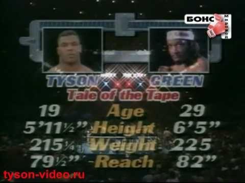 Майк Тайсон - Митч Грин 21(1) Mike Tyson vs Mitch Green