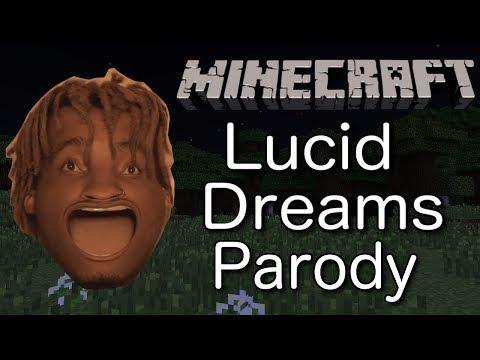 Juice Wrld - Lucid Dreams (MINECRAFT PARODY) ft. Galaxy Goats
