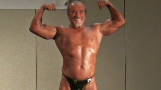 69 Year Old Bodybuilder at 2015 NGA Night of the Champions Muscle Beach