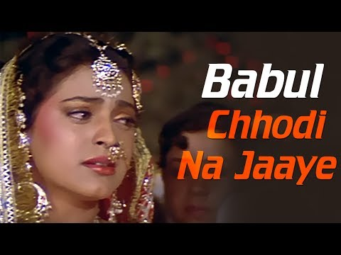 Baabul Chhodi Na Jaaye - Juhi Chawla - Vivek Mushran - Bewafa Se Wafa - Bollywood Songs video