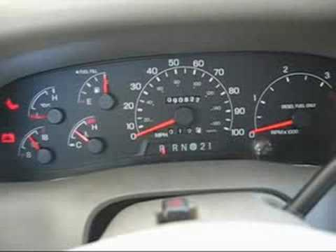 007 HHO Dry Cell First MPG (milage) Test F350 7.3L Diesel 5.5