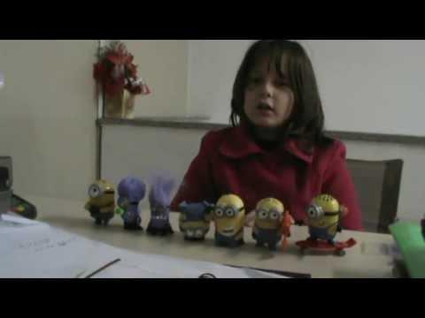Minions Do Mc Lanche Feliz {7 Bonecos ] ---- Meu Malvado Favorito 2. video