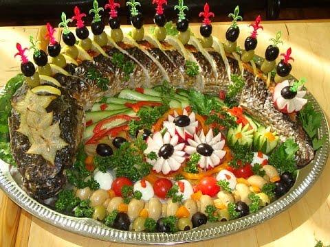 Фаршированной рыбы рецепт и
