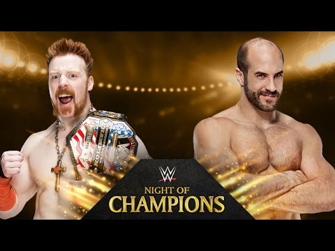 Sheamus vs. Cesaro - Night of Champions - WWE 2K14 Simulation