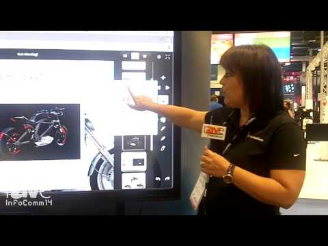 InfoComm 2014: Promethean Introduces Active Pannel with 6 Touch Points