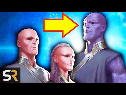 Thanos Will Be In Marvel's Eternals Movie In Phase 4