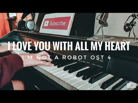 I'm Not a Robot OST Part 4 Piano| Damsonegongbang 담소네공방 | I Love You With All My Heart 마음 다해 사랑하는 일