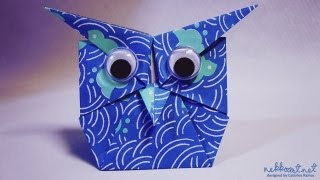 How To Fold: Origami Owl By Shoko Aoyagi