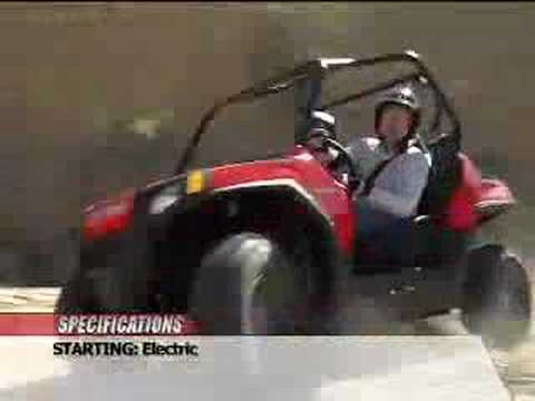 ATV Television Test - 2008 Polaris Ranger RZR