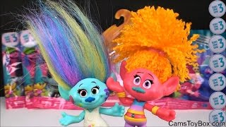 NEW Dreamworks Trolls Blind Bags Series 3 Opening Toys Surprises for Kids Play Toy Names Fun