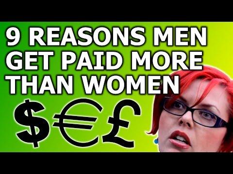 9 Reasons Men Get Paid More Than Women (The Wage Gap Debunked)