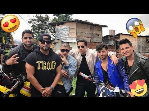 0 - Maluma graba su nuevo video musical en la comuna 13 de Medellín