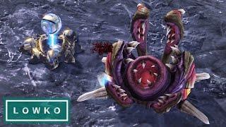 StarCraft 2: CANNON RUSH vs NYDUS WORM!
