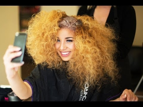 Jadah Doll Dyes Her Hair!