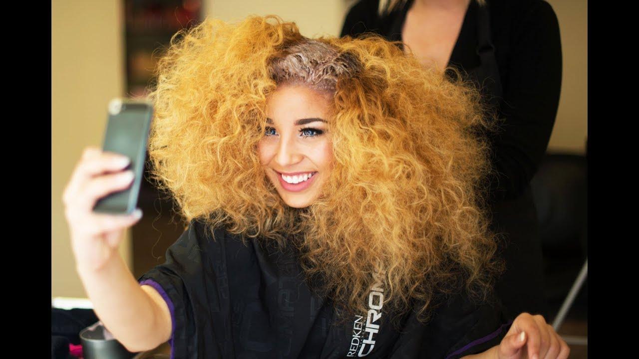 Jadah Doll Dyes Her Hair Youtube