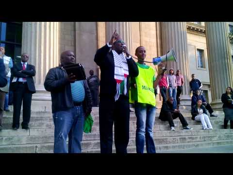 Zwelinzima Vavi Addressing Wits students