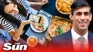 Rishi Sunak reveals half-price meals out for all and 15% VAT cut on staycations