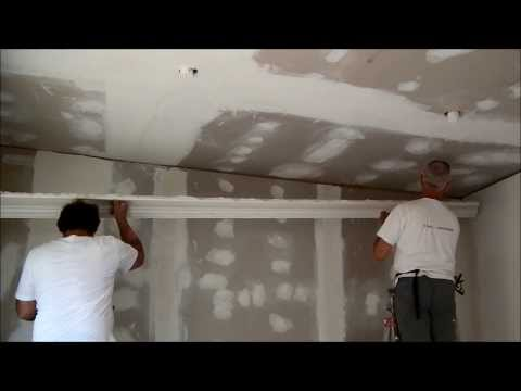 Plastering  installing Victorian Cornices and Troweling Dry Wall Heidelberg