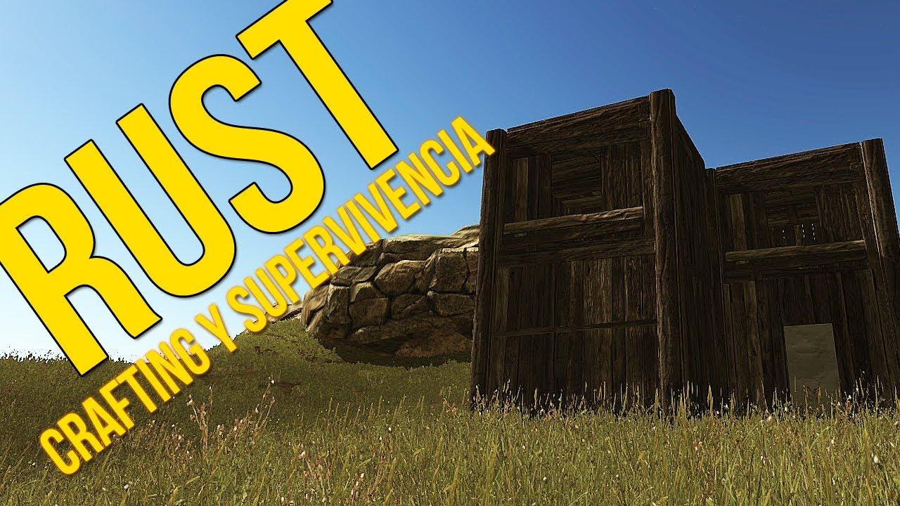 Rust crafting y supervivencia construyendo un hogar - Juego de crear tu casa ...