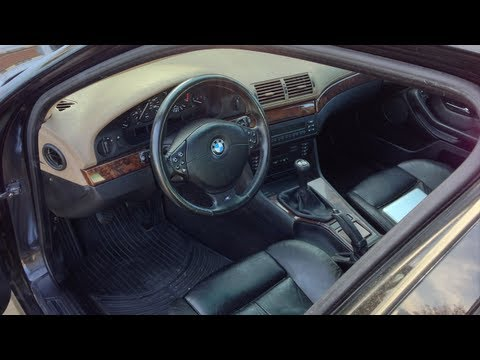 BMW E39 5-Series Steering Wheel Replacement