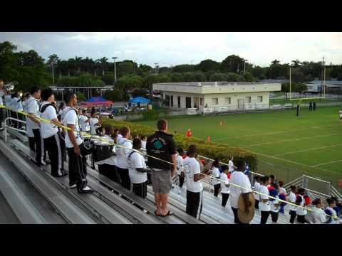 Hollywood Hills High School Band - National Anthem