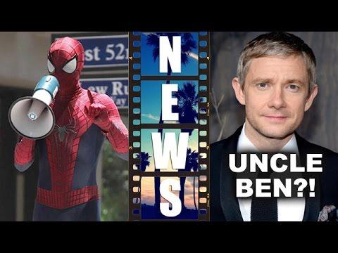 Martin Freeman joins Marvel Civil War, Spider-Man 2017 Director - Beyond The Trailer