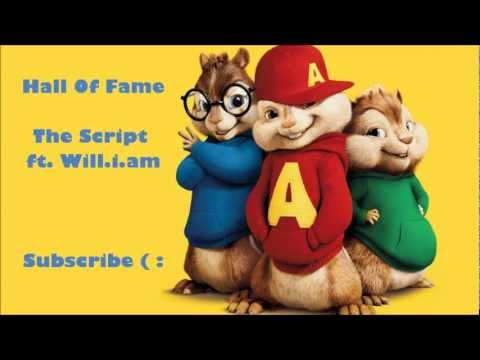 The Chipmunks - Hall Of Fame (The Script ft. Will.i.am)