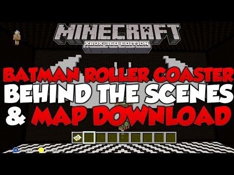 Minecraft Xbox - Batman Stop-Motion Roller-Coaster Behind The Scenes (MAP DOWNLOAD OUT NOW)