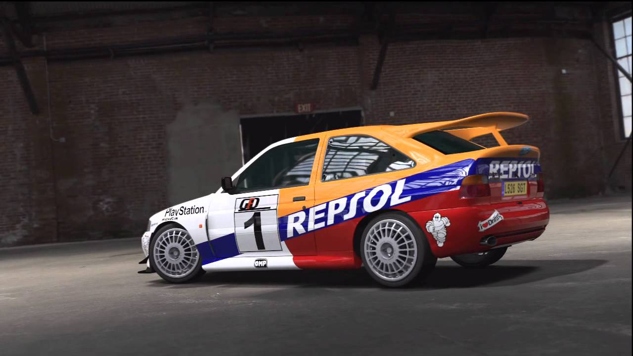 1 18 ford escort rs wrc repsol: