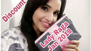 Lady Raga January 2018 | Discount & Offer | Unboxing & Review | Instagram Giveaway Open