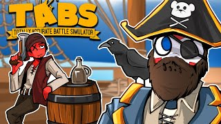 "Totally Accurate Battle Simulator | ""NEW PIRATE FACTION"" Der be a mutiny!"