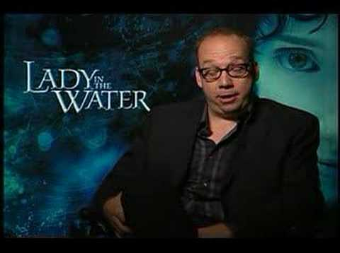 Lady in the Water Paul Giamatti interview