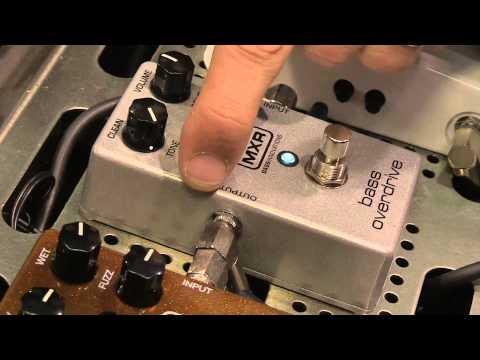 MXR Bass Overdrive & Bass Chorus Deluxe [NAMM 2013]