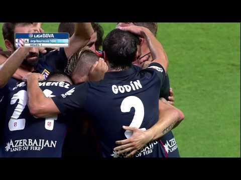 Gol de Koke (0-1) Sevilla FC - Atlético de Madrid