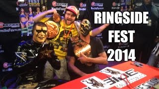 RINGSIDEFEST 2014!! Meeting Roman Reigns, Bella Twins, Dean Ambrose Goldust and STARDUST!