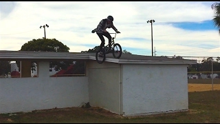 JABE GRINDS A ROOF COVERED IN ROAD KILL
