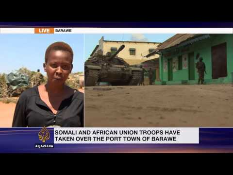 African Union forces take al-Shabab-held town