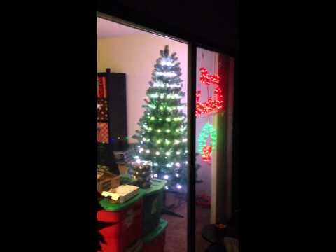 Christmas tree with WS2811 pixels, SanDevices E682 controll