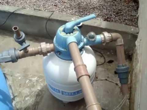 Como instalar filtro em piscina de vinil youtube for Como hacer una alberca paso a paso