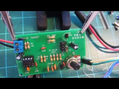 555 Signal Generator DIY KIT Review