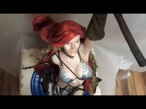 Red Sonja PF Statue Sideshow 1412 Of 3000 Pcs