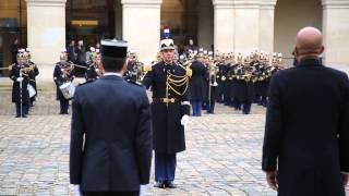 Video: President Martelly - Ceremonie d'Accueil - Hotel National Des Invalides