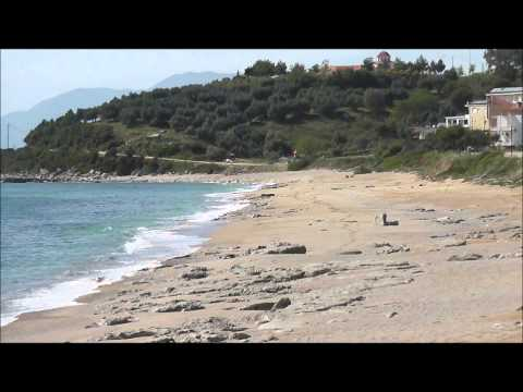 The beach of KASTROSYKIA, IPIROS, Northwestern Greece