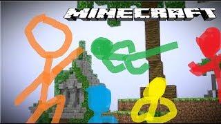 Nếu người que có trong minecraft !!! ( Hoạt hình Animaton lồng tiếng việt )