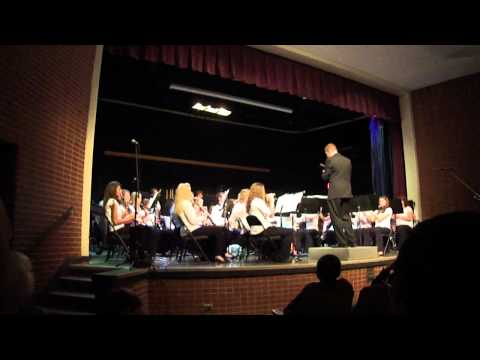 Chilhowie High School Band preforms Stars and Stripes Forever