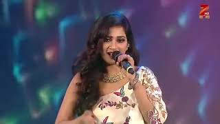 Shreya Ghoshal ghoomar live performance at Vanitha Film Awards 2019