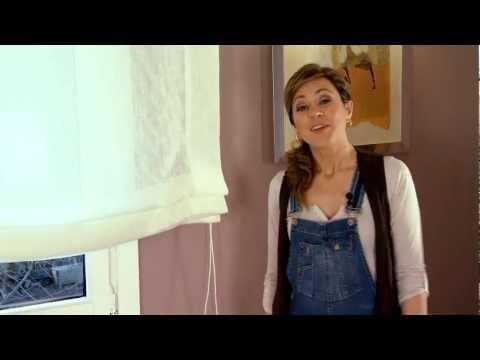 Como instalar estores paqueto o plegables de cortinadecor - Pegatinas para puertas ...