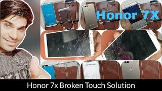 Huawei Honor 7X Crack Touch Glass Only Replacement-Teardown,Battery,Charging port Replacement